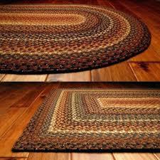 braided rug wool oval restoration hardware chunky braided wool rug marled