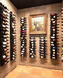 Surprising Decorative Wall Wine Rack Decorating Ideas Images in Wine Cellar  Traditional design ideas