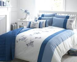 bed covers awesome beautiful blue colour embroidered faux silk duvet cover luxury bedding regarding blue duvet covers satin silk bed sheets india