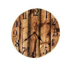 rustic wall clock barn wood reclaimed large extra clocks