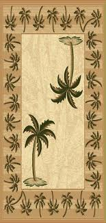 palm tree area rugs wonderful runner rug throughout design 2