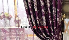 marvellous purple curtains target large image for beautiful window in color with fl pattern dark treatments