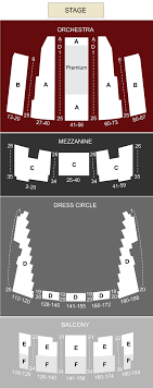 Queen Elizabeth Theatre Vancouver Bc Seating Chart