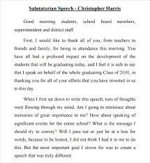 sample salutatorian speech documents in pdf salutatorian speech example high school