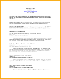 Related For 10+ flight attendant resume no experience