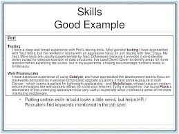 Skills To Put On Resume Gorgeous Skills To Put On Resumes Colbroco