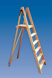 contractor s platform wooden step ladders