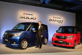 new car launches in japanNext gen 2016 Suzuki Solio gets K12C engine sheds 100 kg