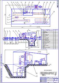 Комплекс обработки насосных штанг Чертеж Оборудование для добычи и  Комплекс обработки насосных штанг Чертеж Оборудование для добычи и подготовки нефти и газа