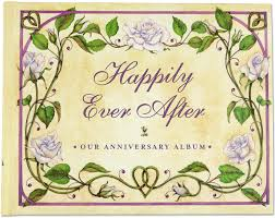 Happily Ever After Our Wedding Anniversary Album Wedding Album