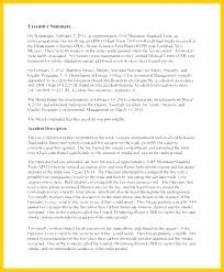 Accident Letter Format Hr Investigation Template Ace To