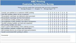 Satisfaction Survey Report Customer Satisfaction Questionnaire Template Survey