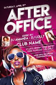 office party flyer after office free party flyer template best of flyers
