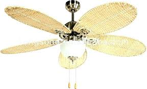 ceiling fan blades replacement fans with wicker decor 16