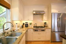 Kitchen Cabinet Granite Top White Cabinets Granite Countertops Kitchen Best Image Of Idolza