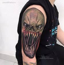 татуировки в стиле реализм акварель ньюскул и графика в москве