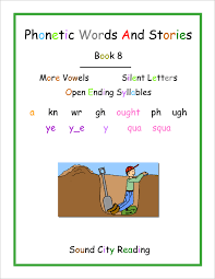 A spelling alphabet is a set of words used to stand for the letters of an alphabet in oral communication. Phonetic Words And Stories 1 8 Sound City Reading