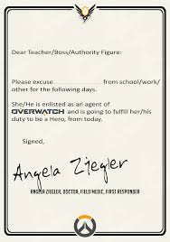 Reddit Fake Doctors Note Heres Your Doctor Note For Tomorrow Overwatch