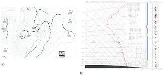 Windstorm On 24 November A Synoptic Chart B Sounding