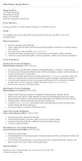Employee Relation Manager Resume Unique Public Relation Manager Resume Project Manager Resume Samples Fresh