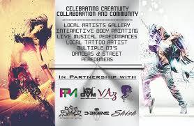 Art Event Flyer Tainted Living Art Event Candy Stilettos