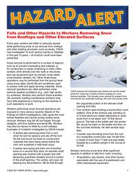 Osha Cold Stress Chart Winter Weather Osha Resources Occupational Safety And