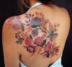 Lucy Hu Flower Tattoo Tetování Kytky Tetování A Skici Tetování