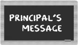 Image result for Principals message