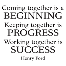 Together Quotes Working Together Is Success Wall Quotes Decal Wallquotes 100 18