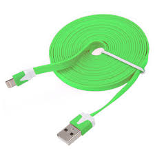 flat noodle cable data sync charger cord for iphone s c ipod flat noodle cable data sync charger cord for