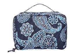 blue upc 886003313008 image for vera bradley luge large blush brush makeup case blue