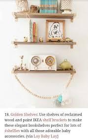 shelf redo the littles room ideas of gold wall shelf