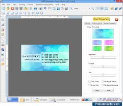 Business Card Maker Software Creates Visiting Security Cards Creator