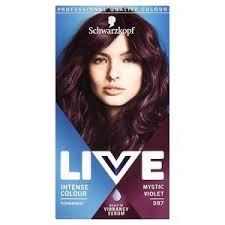 Live Intense Colour 087 Mystic Violet Hair Dye