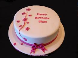 Simple Fondant Cake Cakes And Desserts Simple Fondant Cake