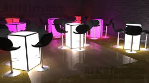 Lighted Cocktail Tables For Rent Led Table Rental Brooklyn Light Up Event Furniture Rental