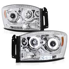 Halo Lights For 2006 Dodge Ram 2006 2008 Dodge Ram 1500 2500 3500 Angel Eye Halo Led