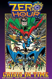 review zero hour crisis in time trade paperback dc ics collected editions