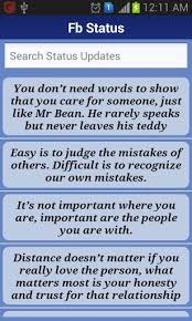 Facebook Quotes And Saying Cool Facebook Everyday Quote Saying View Bigger Statuses Quotes For