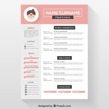 Pretty Resume Template Best Cute Resume Templates Free Zoroblaszczakco Pretty Resume Template
