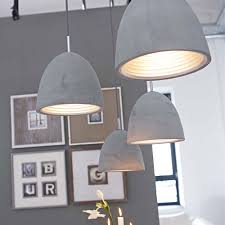 Beton Trifft Metall Lampe Concrete Meets Metal Lamp
