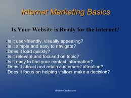 internet marketing presentation