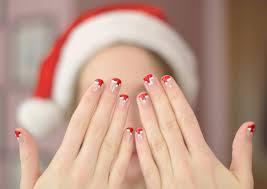 Christmas Hat Nail Design Diy Santa Hat Nail Art Classically Contemporary