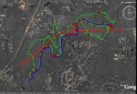 the right tool for the job a comparison of arc gis and google trails and plant locations in arcgis trails and plant locations plotted in google earth