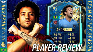 THE FINESSE KING! 92 TOTS FELIPE ANDERSON REVIEW! FIFA 20 Ultimate Team -  TOTSSF Player Review - YouTube
