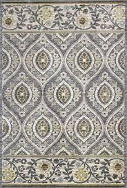 gray oriental rug blue grey