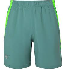 Ua Launch Sw Mesh Panelled Shell Shorts
