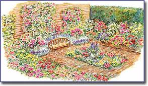 Small Picture Rose Garden Design Plans Native Garden Design