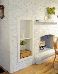 paint couture brand for a painted white brick fireplace or painted stone fireplace with chalk paint sewafineseam
