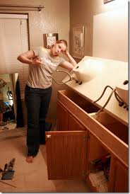 installing bathroom vanity. how to add height a short bathroom vanity (31) installing